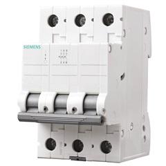 Disjuntor Tripolar Curva C 40a Branco - Siemens