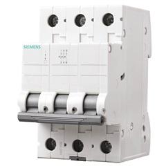 Disjuntor Tripolar Curva C 80a Branco - Siemens