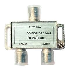 Divisor Coaxial  Alta Frequência com 2 Saídas - TMS
