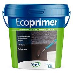 Ecoprimer Primer para Mantas Asfáltica Galão 3,6 Litros - Viapol