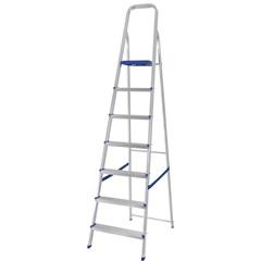 Escada de Alumínio 7 Degraus Uso Doméstico