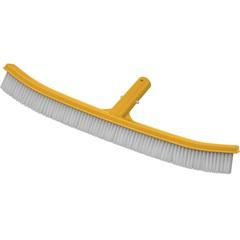 Esfregão de Parede para Piscina 45cm Amarelo