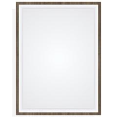 Espelheira em Mdf Quarsar 60x80cm Ameixa Negra - Mazzu