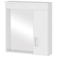 Espelheira em Mdf Turim 60x63cm Branca - MGM Móveis