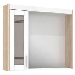 Espelheira Imola 60 Cm com Luminária Branco - Darabas Agardi