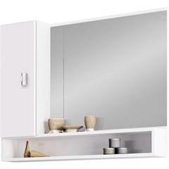 Espelheira Orquídea Branca 80cm - Cozimax