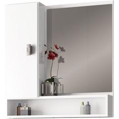 Espelheira Orquídea Branco 60cm - Cozimax