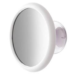 Espelho de Aumento de Parede com Ventosa Branco