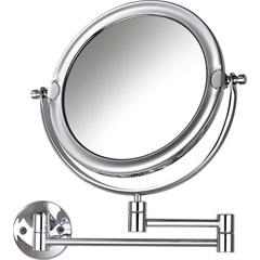 Espelho de Aumento de Parede Dupla Face Móbile Cromado