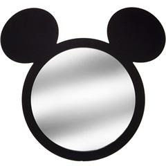 Espelho de Parede Mickey 46,5cm Preto