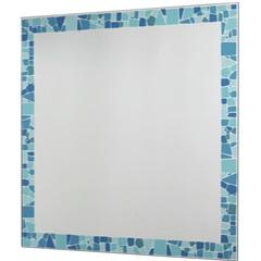 Espelho Mosaico Colore 54x52,5cm Azul