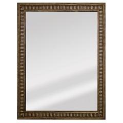 Espelho Retangular Moldura de Madeira Natural com Betume Cartagena 82x62cm
