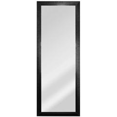 Espelho Retangular Moldura de Madeira Tabaco Esmeralda 169x63cm