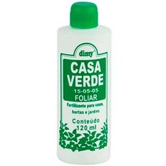 Fertilizante Líquido para Folhas Casa Verde 120ml