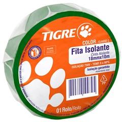 Fita Isolante Color Verde 10m - Tigre