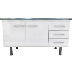 Gabinete para Cozinha em Mdf Sonic 143x80cm Branco - Bonatto