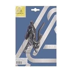 Gancho para Rede de Chumbar 1374/2 Zinco Preto Ref. 19341 - Aliança