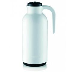 Garrafa Térmica em Plástico Reunir 1 Litro Branca - Sanremo