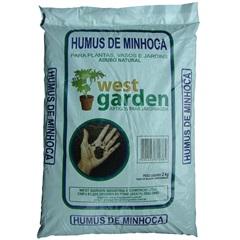 Húmus de Minhoca Saco com 2kg