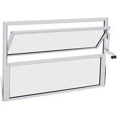 Janela Basculante sem Grade Alumifit 40x60cm Branca - Sasazaki