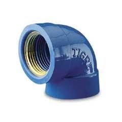 """Joelho Azul com Bucha de Latão 25mm X 1/2"""" - Tigre"""