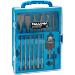Kit de Acessórios para Martelete Sds-Plus com 14 Peças - Gamma