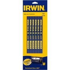 Kit de Lápis para Carpinteiro E Apontador com 6 Peças Azul