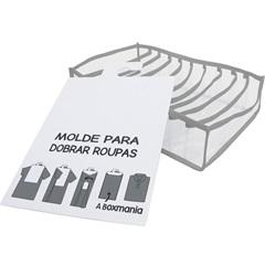 Kit de Organizador Colmeia para Camisa 30x24x10cm Cinza