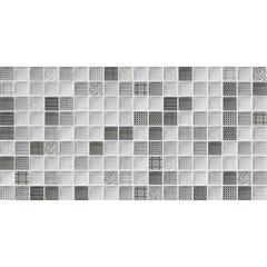 Kit Decorado Borda Reta Brilhante Trend Mix Black 30x60cm - Lanzi