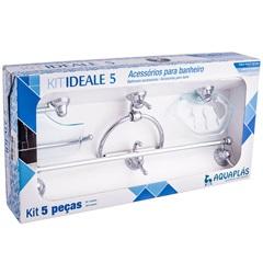 Kit Ideal com 5 Peças Cromado Verde - Ref: 10071002001   - Stamplas