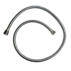 """Ligação Flexível Trançada em Aço Inox para Torneira/Misturador 1/2""""X60cm Cromado - Esteves"""