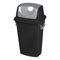Lixeira Basculante Ecoblack 60l  Ref. 3475 - Plasútil