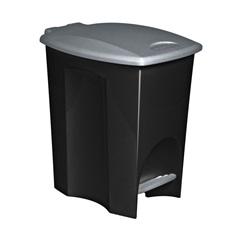 Lixeira Ecoblack com Pedal 7l  Ref. 3494 - Plasútil