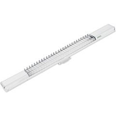Luminária Lumifácil 2x18w Branca  - Taschibra