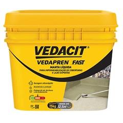 Manta Líquida Vedapren Fast Branco 15kg