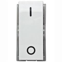 Módulo de Interruptor Bipolar Simples Duale Up Branco - Iriel