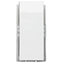 Módulo de Interruptor Simples Brava Branco