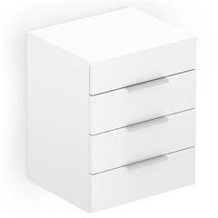 Módulo Extensão para Gabinete com Gaveteiro Like Branco - Celite