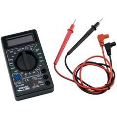 Multímetro Digital 10a 750v Preto - Force Line