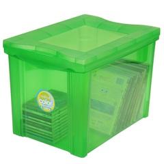 Organizador Médio Alto Radical Color 30 Litros Verde  - Ordene