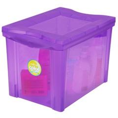 Organizador Médio Alto Radical Color Roxo 30 Litros - Ordene