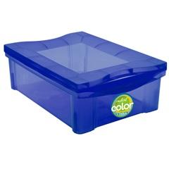 Organizador Médio Radical Color Azul 13,5 Litros - Ordene
