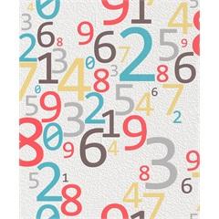 Papel de Parede Números Coloridos 53cm X 10m Tic Tac - Importado