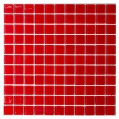 Pastilha de Vidro Vermelha 30x30cm - Casanova