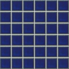 Pastilha Esmaltada Decoração Azul Equatorial 5x5cm - Jatobá