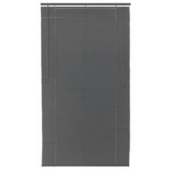 Persiana Horizontal Pvc Block Cinza 100x220cm - Top Flex