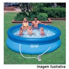 Piscina Easy Set 2.420 Litros com Vídeo & Bomba Filtro 120v Ref. 56971 - Intex