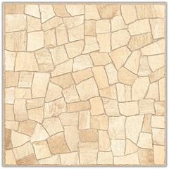 Piso Hd Mosaico Rústico Bege 53x53cm - Idealle