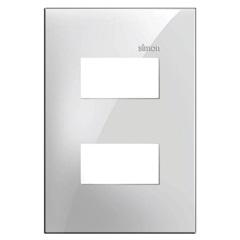 Placa 4x2 2 Postos Separados Simon 35 Branco - Simon