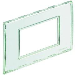 Placa 4x2 Living & Light Kristal - BTicino